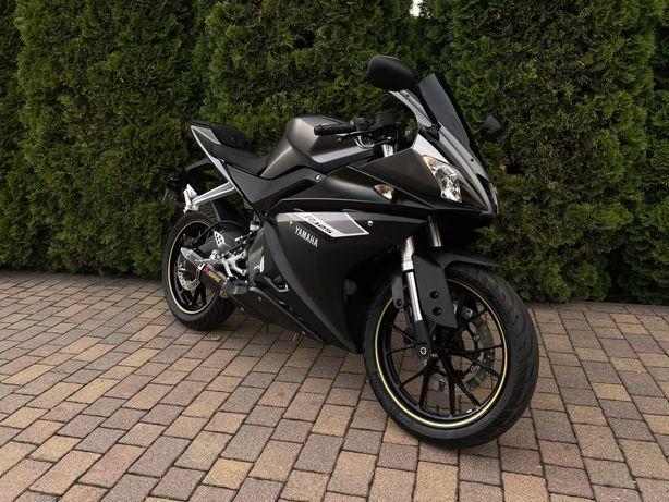 Yamaha YZF R 125 Niski Przebieg 9 tys km Jak Nowa A1/B