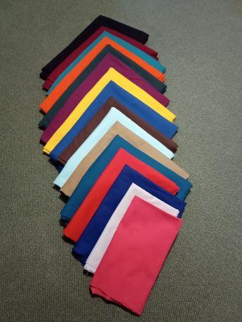 materiały tekstylne-o składzie : 65% poliester,35% bawełna ,185g/m2