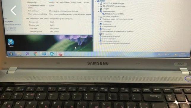 Samsung rv520 разборка материнская плата
