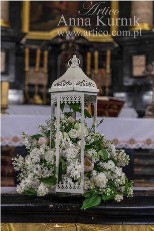 pakiet dekoracje kościołów - ślub