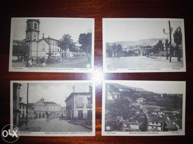 Postais antigos - Vila Real