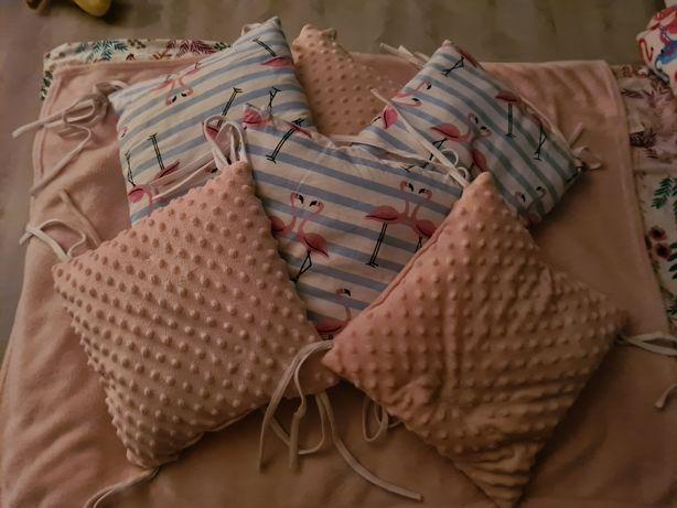 Ochraniacze poduszki do lozeczka
