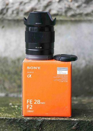 Obiektyw SONY SEL FE 28mm f/2