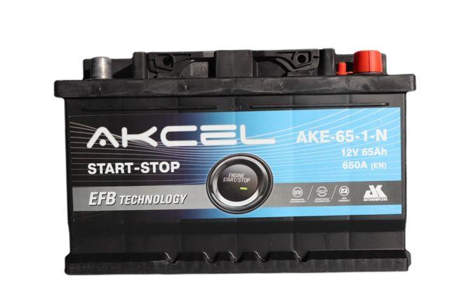Akumulator Start - Stop EFB 65Ah 650A Akcel