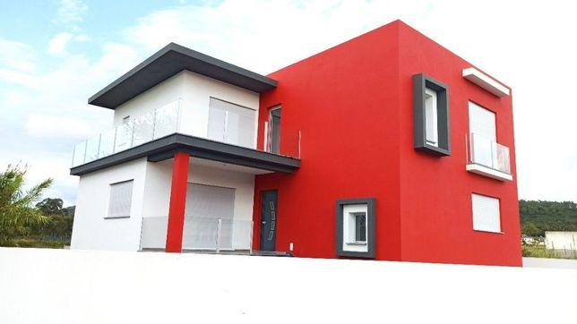 Moradia de arquitetura contemporânea