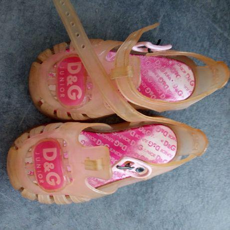 Sandałki rozmiar 22, D&G, crocs