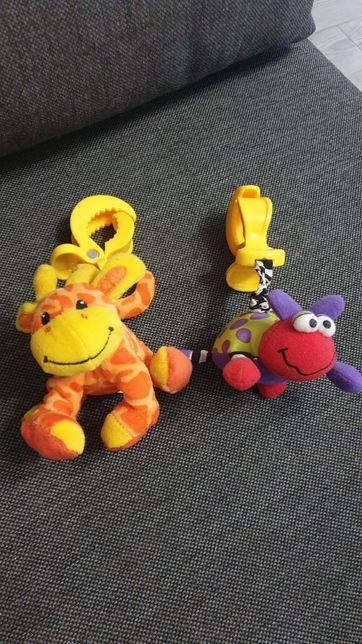 Zestaw dla maluszka - zabawki + kocyk