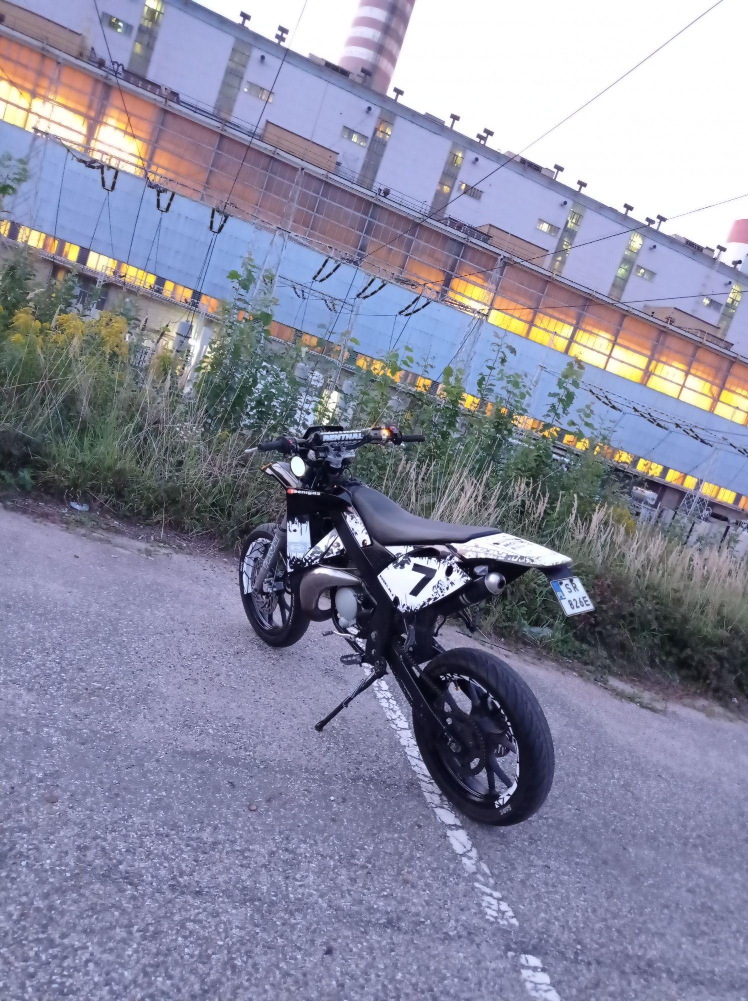 Rieju MRX / SMX 50ccm (Derbi Senda, Yamaha DT)