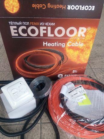 Электро теплый пол тонкий мат, кабель под плитку,ламинат. Devi, Nexans