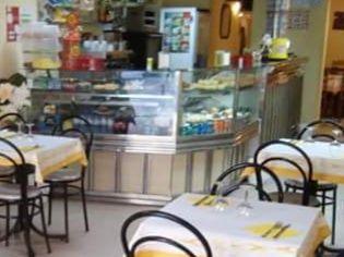 Balcão vitrine com refrigeração café/restaurante