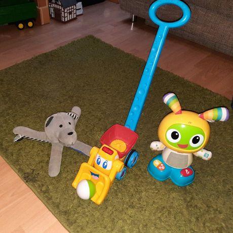 Zestaw zabawek interaktywnych.  Fisher Price i inne.