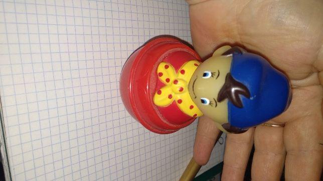 игрушка неваляшка гномик гном маленькая