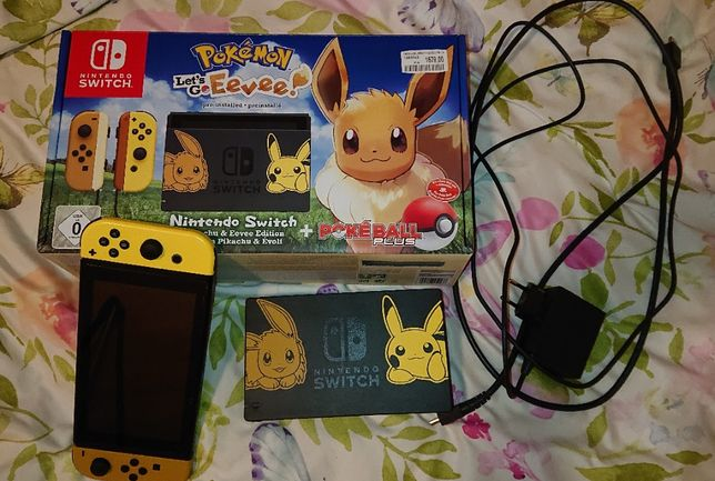 Konsola Nintendo Switch Pokemon Let's go Eevee Edycja Kolekcjonerska