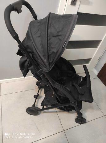 Wózek spacerówka  Kinderkraft PILOT czarny