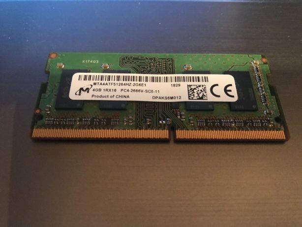 4GB ОЗУ для ноутбука DDR4