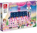 Zestaw klocków zamek pałac księżniczki 662 elementy