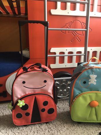Skip hop walizka na kółkach Biedronka