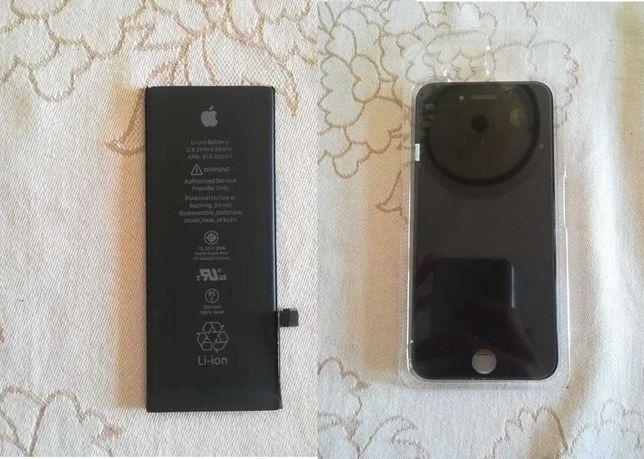 Ecrã LCD e bateria iPhone 8 por estrear