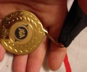 спортичная медаль награда jga британия