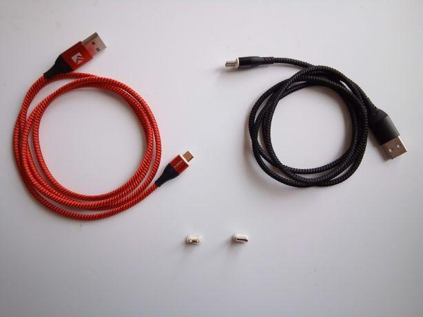Kabel Magnetyczny Micro-USB USB-C Apple IPhone, quick charge 3.0