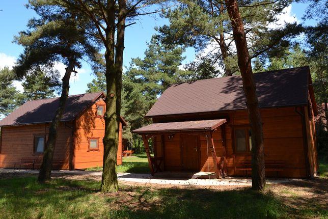 Całoroczne domki drewniane - Lutomiersk Noclegi