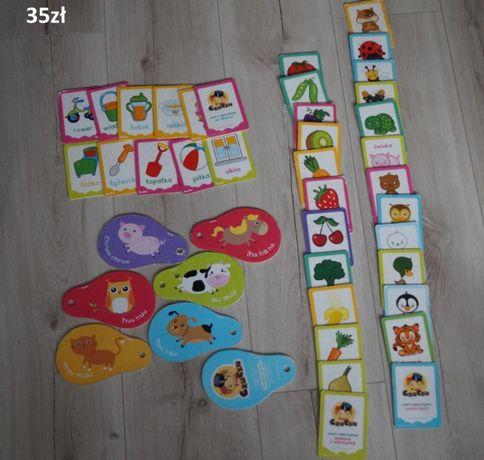 karty obrazkowe/ edukacyjne CzuCzu od 6 miesiąca