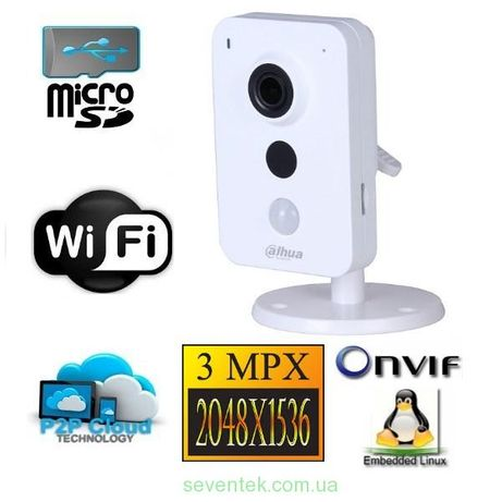 DH-IPC-K42P 4МП IP видеокамера Dahua c WiFi