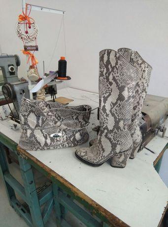 Индивидуальный пошив и ремонт обуви,сумок
