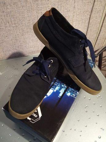 Туфли замшевые 44