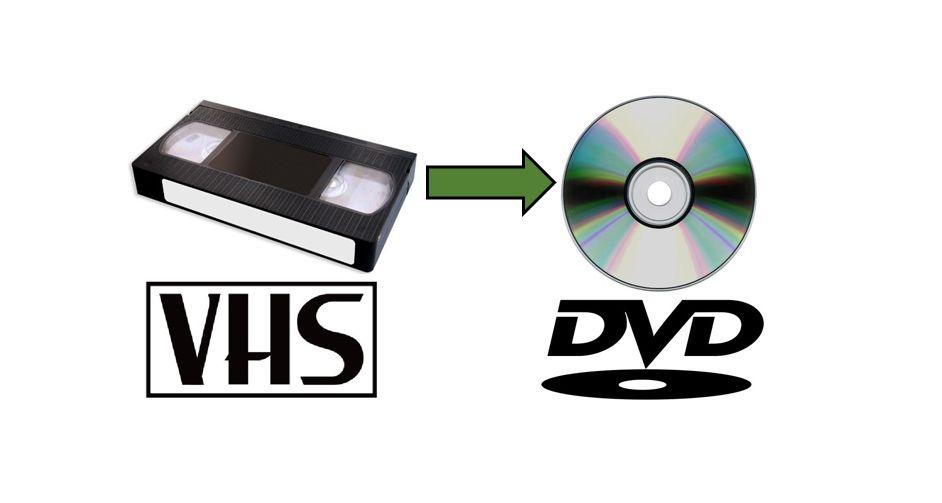 Przegrywanie kaset VHS na DVD, pendrive Olsztyn