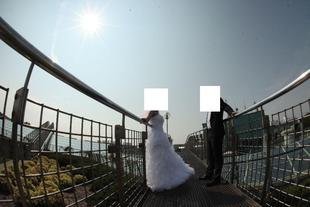 Suknia ślubna roz 38 Hiszpanka Małkinia Górna - image 1