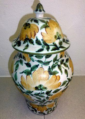 Jarra cerâmica decorativa