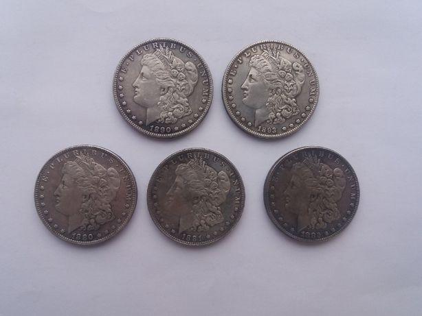 Серебряный Морган доллар монета США