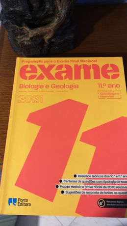 Livro preparação exame 2021 Biologia e Geologia - 11ºano