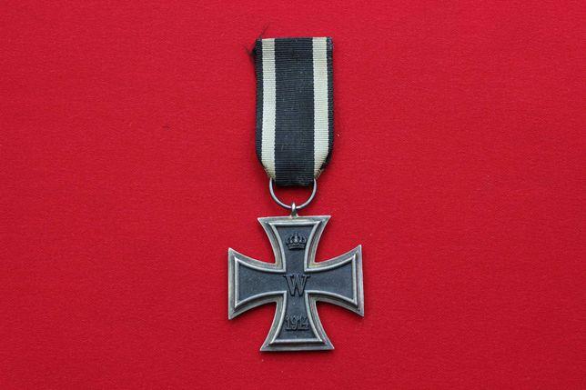 Niemiecki Krzyż żelazny I wojenny oryginał sygnowany