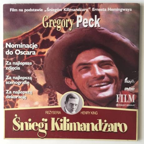 DVHD Śniegi Kilimandżaro Gregory Peck UNIKAT
