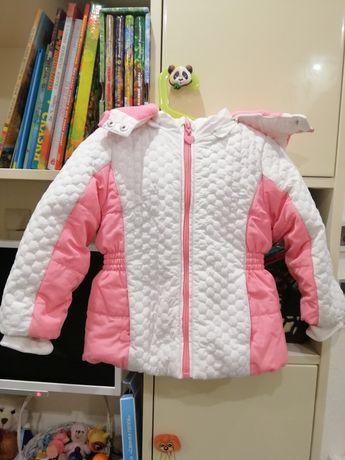 Курточка зимняя Chicco. Очень красивая!