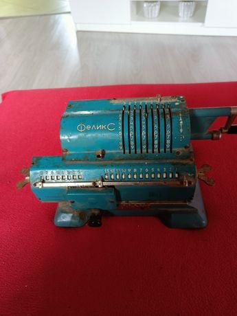 Starą radziecka maszyna do liczenia