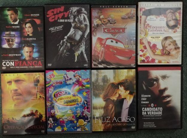 DVDs originais (alguns novos)