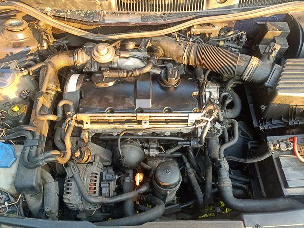 Silnik 1.9 TDI komplet *atd*axr*ajm mały przebieg VW*audi*seat*skoda