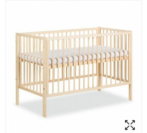 Łóżeczko 120x60 plus materac