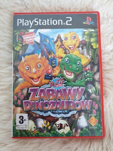 BUZZ! Zabawy dinozaurów Dino PS2 polska wersja Łódź  Playstation