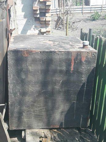 Бак ( Емкость ) металлический железный стальной 1м/куб