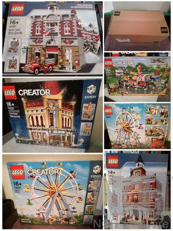 LEGO Modulares Ghostbusters Simpsons Novos e Selados Descontinuados