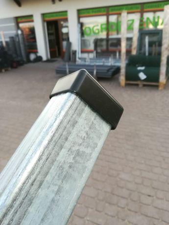 Słupek 60x40 2m ocynk ogrodzenie panelowe panel ogrodzeniowySuper CENA