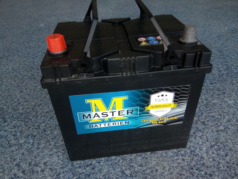 Akumulator MASTER VARTA 60Ah JAPAN L+ Brzeziny