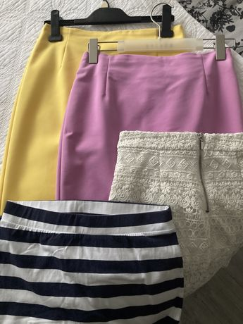 Paczka ubrań damskich, zestaw 40 sztuk różne marki