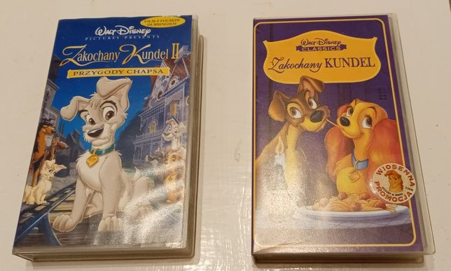 Bajki na VHS - Zakochany kundel I i II