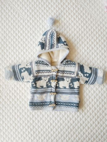 Bluza, kurteczka zimowa, rozmiar 68