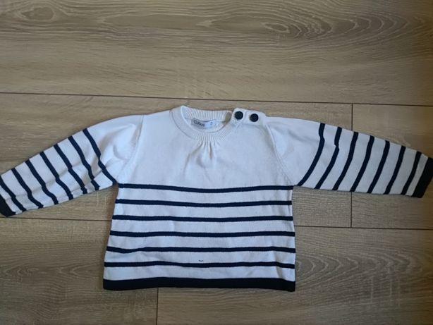 Sweter dziewczęcy Cubus rozmiar 74